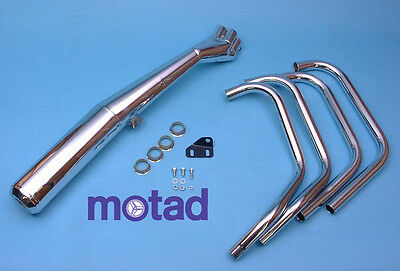 Motad - Yamaha XJ550 complete exhaust system