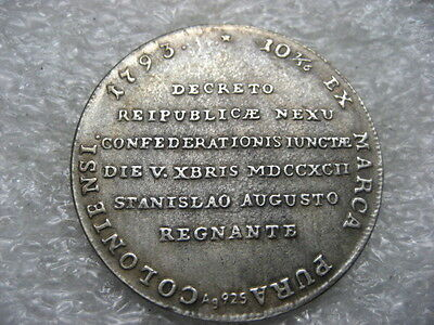 Poland Polish Medal Some King Stanislaw August,replica