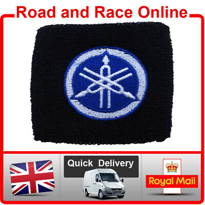Small Yamaha Rear Brake / Clutch Reservoir Sock Cover Shroud Embroidered Cotton