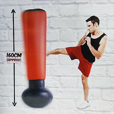 Water Base Stress Buster 160cm Free Standing Inflatable Punch Punching Bag Tower