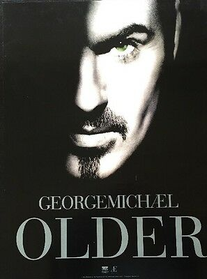 George Michael Older 1996 Dream Works Promo Poster Wham NEAR MINT CONDITION