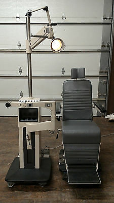 Marco Deluxe Ophthalmic Chair and Stand Newly Refurbished