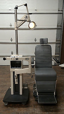Marco Deluxe Ophthalmic Chair and Stand Refurbished