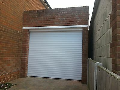 Insulated Garage Roller Door, Electric Remote Control, Made To Measure, Fitted