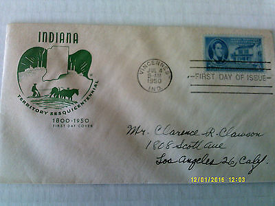 FDC House of Farnam #996 Indiana
