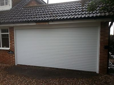 Insulated Garage Roller Door, Electric Remote Control, Made To Measure, Fitted.