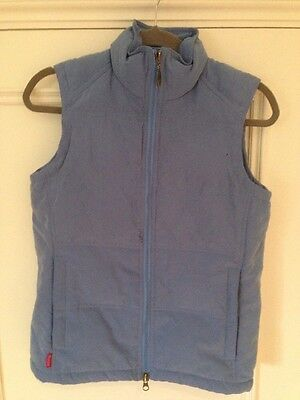 Ladies Musto Duck Down And Feather Lined Gilet Size 8