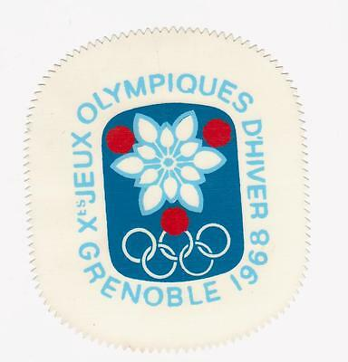 jeux olympique hiver 1968 grenoble