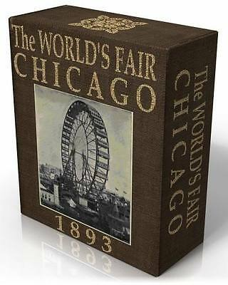 WORLD'S FAIR CHICAGO 1893, 24 rare, vintage books on CD! COLUMBIAN EXPOSITION