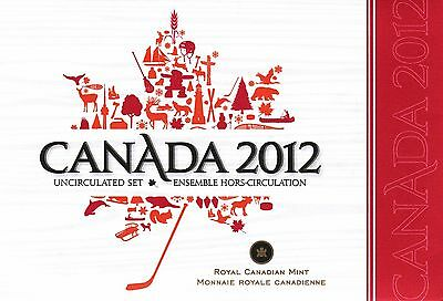 2012 CANADA Uncirculated Coin Set - 2012 Magnetic Penny Included