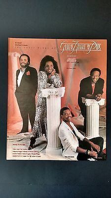 Gladys Knight & The Pips 1987, Rare Original Print Promo Poster Ad