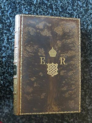 Antique Book The Private Life Of Ancient Greeks By W A Becker Beautiful Tooled F