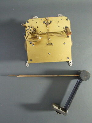 Vintage Haller mantel clock movement & chimes for repair spares steampunk