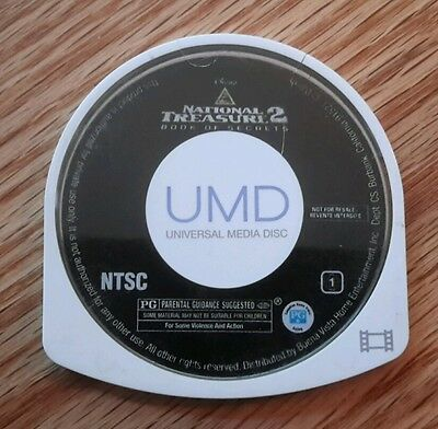 National Treasure 2 (Playstation Portable, UMD) disc only