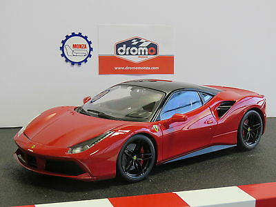 Ferrari 488 Gtb Red 1:18 - Bburago Signature Series
