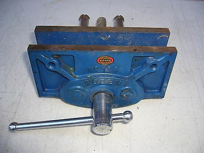 """ Woden "" 194 Carpenters Bench Vice. 6"" Wide Jaw."