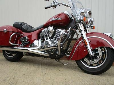 Indian Springfield...2016 New Model....Indian Red