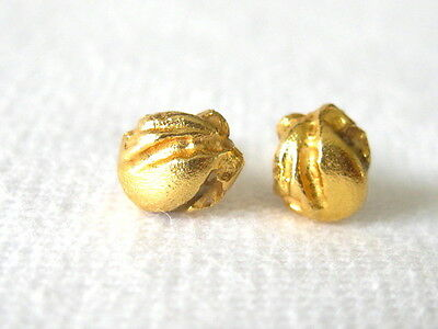 orig. LAPPONIA Ohrstecker Gold 750 Ohrschmuck Designer 18k Ear plug Earrings