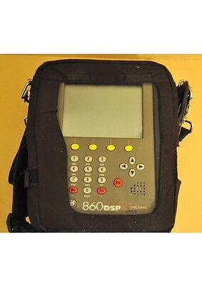 Trilithic 860 DSP MultiFunciton Cable Analyzer DOCSIS  860 DSP