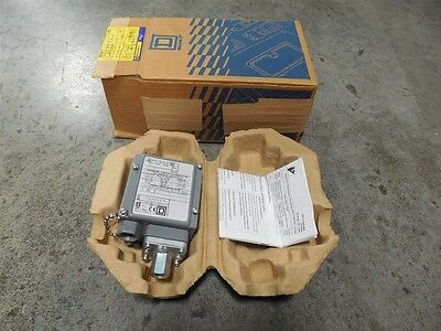 NEW Square D 9012 GAW-6 Pressure Switch Series C 5-250 PSIG