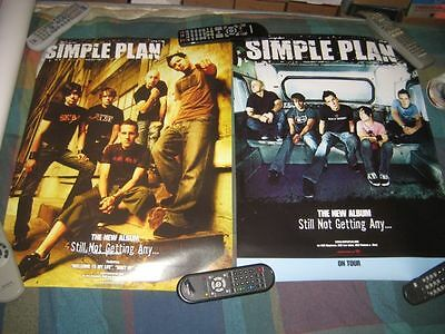 SIMPLE PLAN-(still not getting any...)-1 POSTER-2 SIDED-18X24-NMINT-RARE
