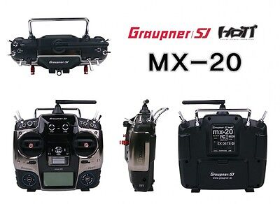 Graupner SJ HOTT MX-20 12 Channel 2.4GHz Transmitter with Receiver - New & Boxed