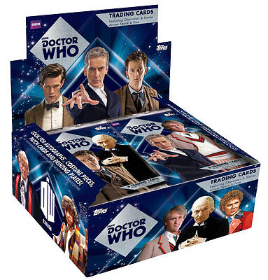Dr Who Topps 2015 Collectors Cards Pick Your Own 1-39