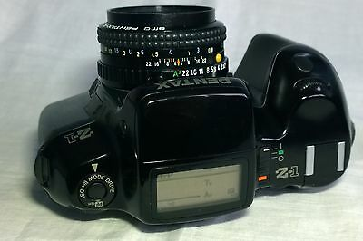 Pentax Z1 with Pentax-A f2 / 50mm and Databack