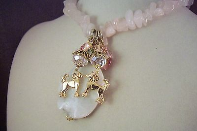 CHINESE CRESTED -Dog -jl4-Jewelry-HOT SALE-NECKLACE-By USArtisan-FREE SHIP!