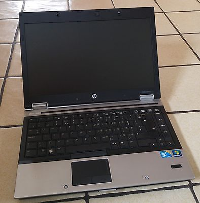 HP 8440p Elitebook Laptop Intel Core i5 2.40GHz 6GB 250GB Windows 7