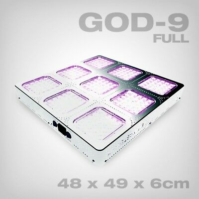 Budmaster II LED Grow Lampe GOD-9, 405W