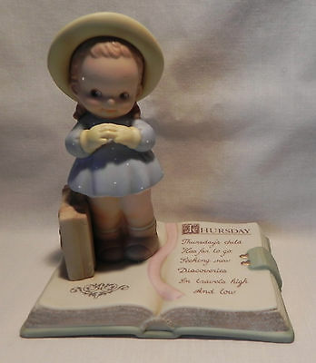 Enesco Memories of Yesterday Thursday's Child Style No. 531413- No. 247 of 1,994