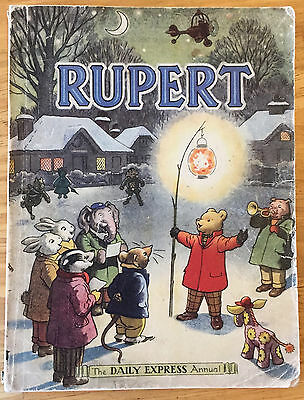 RUPERT ORIGINAL ANNUAL 1949 Neatly inscribed Not Price-clipped VG