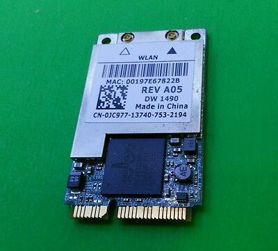 Dell Latitude D620 D630 Wireless Card Wifi Adapter JC977 DW-1490 BCM94311MCAG