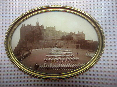 Vintage Picture Photo in Frame Scottish Guard ww1
