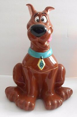 Scooby Doo Dog Ceramic Cookie Jar Warner Brothers 1997 Retired