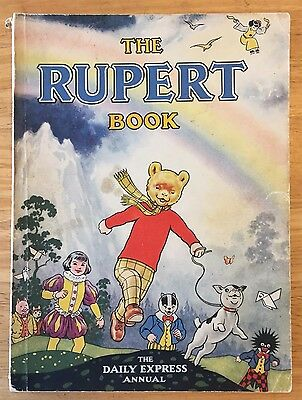RUPERT ORIGINAL ANNUAL 1948 Neatly inscribed Not Price-clipped VG