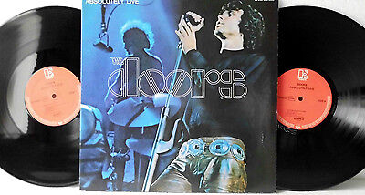 2 LP The Doors Absolutely Live, 2 Vinyl NM- | Ger psychedelich Rock Blues 33 RPM