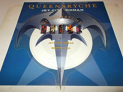 Queensryche Picture Discjet City Woman 1991
