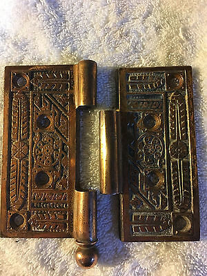 No. 36 Antique Victorian Door Hinge Hinges Brass
