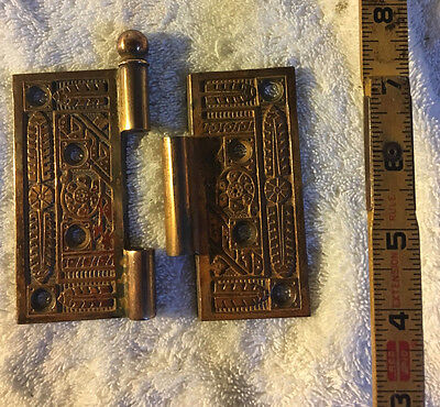 No. 35 Antique Victorian Door Hinge Hinges Brass