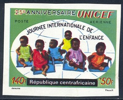 Central African Republic Scott CB4a mint lightly hinged imperforate