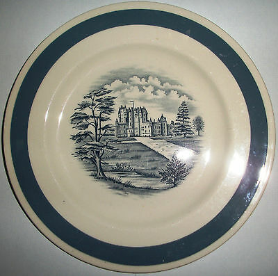 Alfred Meakin Stately homes - Glamis castle 17cm Side plate
