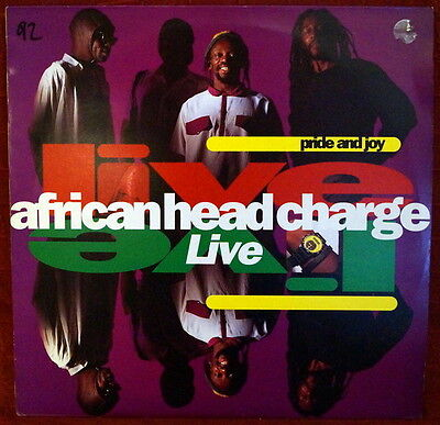 "African Head Charge ‎""Pride And Joy - Live"" RARE UK On-U Sound ‎– ON-U LP 58 LP"