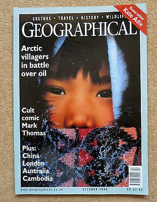 Geographical Magazine - October 2000 National Geographic