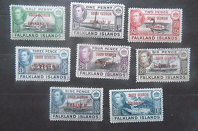 Falkland Islands Dependencies 1944/5 South Georgia  MH / Used