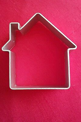 Christmas House Shaped Eco Friendly Aluminium Cookie Mold,Cake,Pastry Cutter