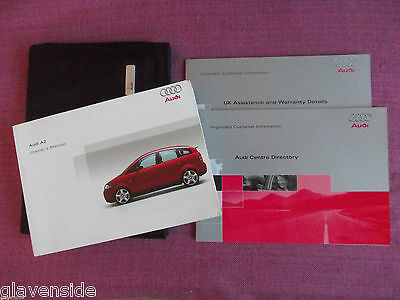 Audi A2 Owners Guide - Owners Manual - Owners Handbook. (Au 418)