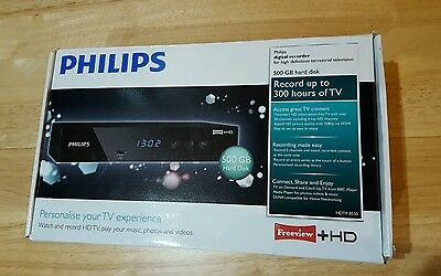 Philips Freeview+ HD 500Gb HDMI TV Recorder Phillips