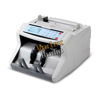 New Pyle PRMC500 Automatic Bill Counter, Digital Cash Money Banknote Counting